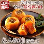 あんぽ柿 (6個)竹籠入 送料無料 和歌山県 かつらぎ町