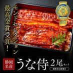 うなぎ 蒲焼き 国内産 送料無料 ギフト モンドセレクション最高金賞「うな侍」2尾セット ギフト 鰻 ウナギ