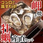 岬焼かき産直セット(殻付き牡蠣12〜15個)冷蔵 ◯