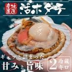 【送料無料】宮城県産特大殻付きほたて(約200g×8枚)冷蔵