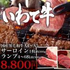 いわて A4〜A5牛サーロイン・ランプセット(約600g)冷蔵  ★