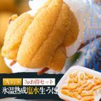 海水パック入り生ウニ(100g×3パック)冷蔵 ◯