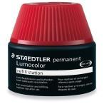 ステッドラー ルモカラー油性補充インク/487 17-2 レッド