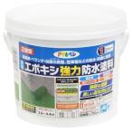 アサヒペン 水性2液型エポキシ強力防水塗料 ライトグリーン/1kgセット