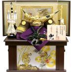 五月人形 龍玉作 「伊達政宗兜」収納飾り(15239)