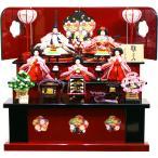 雛人形 ひな人形 千匠作 「雛ごよみ」 三段収納飾り(45A-46)