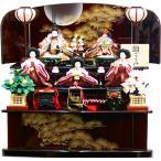 雛人形 ひな人形 千匠作 「雛ごよみ」 三段収納飾り(45A-47)