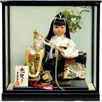 五月人形 吉徳大光作 子供大将 武者人形ケース飾り(503-201)