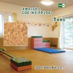 天然オイル仕上 コルクタイル ライト COE-L3 【1枚単位】