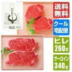 近江牛 ステーキ 食べ比べセット(サーロイン180g×2枚・ヒレ130g×2枚) 送料無料 - 道の駅草津