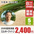 環境こだわり米ミルキークイーン(山本農産) 5kg 平成28年産新米 滋賀県産 近江米 - 道の駅草津
