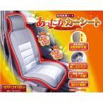 車用暖房シート あったかカーシート 背中と座面にヒーター内蔵 12V車用 温度調整可能 シガーソケットに差し込むだけ ホットカーシート