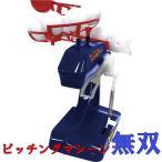 野球の練習 電動ピッチングマシーン ストレート 変化球可能  ボール10個  バット付 送料無料