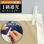 カーテン 安いアウトレット/カーテン用裏地 1級遮光カーテンライナー1枚入(片開き分)