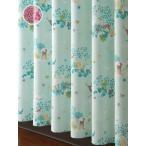 ショッピングカーテン カーテン かわいい 2枚組カーテン ディアーズ 巾100cm×丈135cm/在庫品/送料無料/ポイント5倍