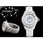 CHANEL シャネル 腕時計 J12 ホワイトセラミック マザーオブパール H2422 レディース