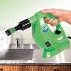 H2O スチームクリーナー FX 8点 デラックスセット 小型軽量 高圧スチーム 掃除