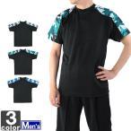 ■シンプルな半袖シャツ! メッシュ 吸汗速乾