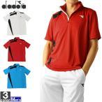 テニスウェア ディアドラ DIADORA メンズ DOS7336A ゲームシャツ 2011 半袖Tシャツ ゆうパケット対応