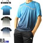 テニスウェア ディアドラ DIADORA メンズ DTG9320A コンペティションシャツ 2010 フィットネス ジム ゆうパケット対応
