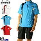 テニスウェア ディアドラ DIADORA メンズ DTG9385 ゲームシャツ 2012 半袖 ネコポス対応