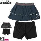 テニスウェア ディアドラ DIADORA レディース DTG9425 スコート 2011 スカート ショートパンツ ゆうパケット対応