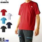 テニスウェア ディアドラ DIADORA メンズ DTP9522 トップ 2010 半袖Tシャツ ゆうパケット対応