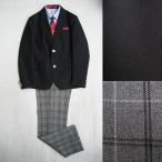 男児フォーマル濃紺紺ブレザーセットアップスーツ 5点セット(濃紺) 140cm/150cm/160cm  #22518 ジャケパンスタイル