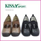 ショッピングスポーツ シューズ KISSA SPORT(キサスポーツ)ストラップシューズ ks8120 ウェッジパンプス バレエシューズ ワイズE レディース 靴 疲れない 痛くない 黒