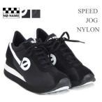 【2016SS再入荷】NO NAME(ノーネーム) ヒールスニーカー SPEED-00101 SPEED JOG NYLON 美脚