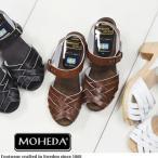 ショッピングサボ MOHEDA TOFFELN (モヘダ トフェール) レザー メッシュ サンダル サボ クロッグ TOPZY sabo スウェーデン製 ナチュラル