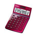 【新品/取寄品】カシオジャスト型電卓 JF-Z200-RD-N レッド