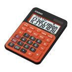 【新品/取寄品】カシオミニジャスト型電卓 MW-C12A-BO-N ビターオレンジ