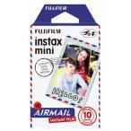 【新品/翌営業日出荷】インスタントカラーフィルム instax mini 絵柄入りフレーム エアメール 1パック(10枚入)