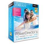 【新品/取寄品】PowerDirector 16 Ultra 乗換え・アップグレード版 PDR16ULTSG-001