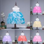 プリンセスドレス 発表会 子供 ドレス ディズニーふわふわなスカートが可愛すぎる! USJ C-2857D0185