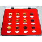 二胡駒の宝石箱 駒12種類