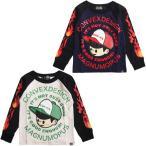 (50%OFF セール)CONVEX コンベックス ミュータンキャップラグランロンT/長袖Tシャツ (メール便OK)(110-160cm) (2019秋冬)