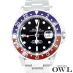 ロレックス ROLEX GMTマスター 16700 A番 ペプシ ギャランティー 中古 メンズ 腕時計