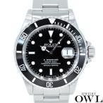 ロレックス ROLEX サブマリーナ デイト 16610 W番 オールトリチュウム 保証書・箱付き 中古 メンズ 腕時計