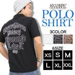 ポロシャツ 半袖 カノコポロシャツ メンズ アメカジ S M L XL XXL 3L 大きいサイズ ASNADISPEC アスナディスペック トップス 白 黒