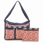 LeSportsac 7507 D842 Travel Daisy Red デラックスエ