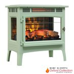Yahoo!オックスフォードコレクション特別割引 定価30%OFF!!3Dパワーヒー薪ストーブ ピスタチオ 送料無料/LLOYD GRANDE/ロイドグランデ/暖炉 温風ヒーター 暖炉型ヒーター リビング 暖房器具