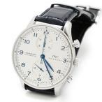 IWC ポルトギーゼ クロノグラフ IW371417 メンズ 生産終了 腕時計 美品
