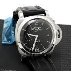パネライ ルミノール PAM00233 1950 8デイズ GMT 手巻き 国際保証書 メンズ 腕時計 美品