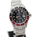 ロレックス GMTマスターII 16710 赤黒 OH済 メンズ 美品