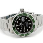 ロレックス サブマリーナ 16610LV グリーンベゼル V品番 メンズ 磨き済 腕時計 美品