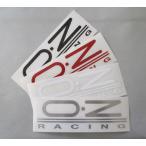 OZ ステッカー RACING 140x42(1枚)