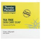 ショッピングツリー ((送料無料))ティーツリーソープ 3個セット 【Thursday Plantation】Tea Tree Soap