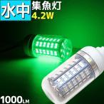 集魚灯 水中集魚灯 水中ライト led 4.2w 100LM 12v 白 ホワイトグリーン ブルー 緑 青 LED 水中ライト 水中イルミネーション LED 集魚灯